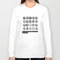 world cup Long Sleeve T-shirts featuring World Cup Footballs by Thomas Orrow