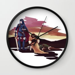 After the Battle Wall Clock