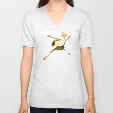 Space Ship Unisex V-Neck