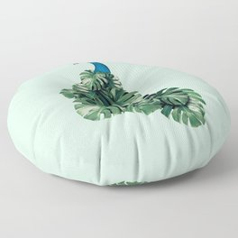 MONSTERA BIRD Floor Pillow