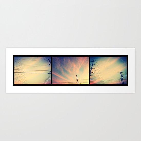 Wires Art Print