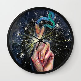 Luck Machine Wall Clock