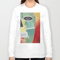 calavera Long Sleeve T-shirts featuring Calavera 2 by Santiago Uceda