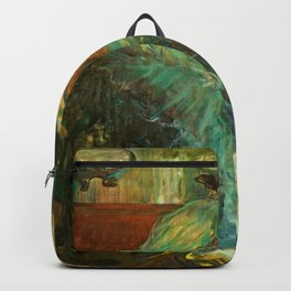 """Henri de Toulouse-Lautrec """"Au Rat Mort"""" Backpack"""