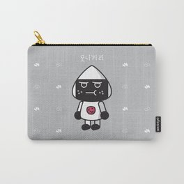 SULKY FACE onigiri Carry-All Pouch