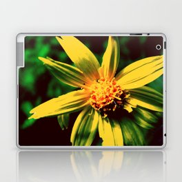 Vintage Yellow Flower Laptop & iPad Skin