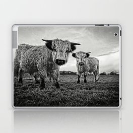 Two Shaggy Cows Laptop & iPad Skin