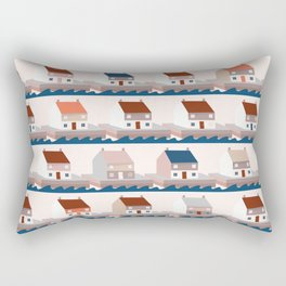 A house by the sea Rectangular Pillow