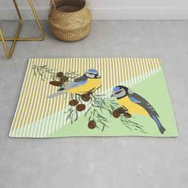 two birds in harmonie Rug