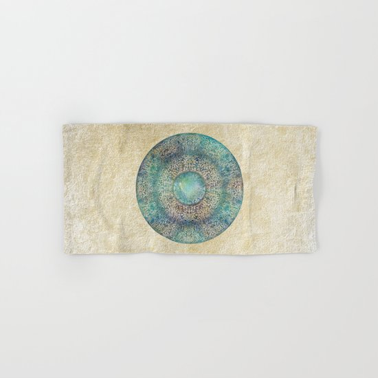 Moon Mandala Hand & Bath Towel