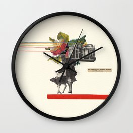 The Automatically Screwed Machine Wall Clock