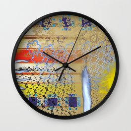 Burning for You Wall Clock