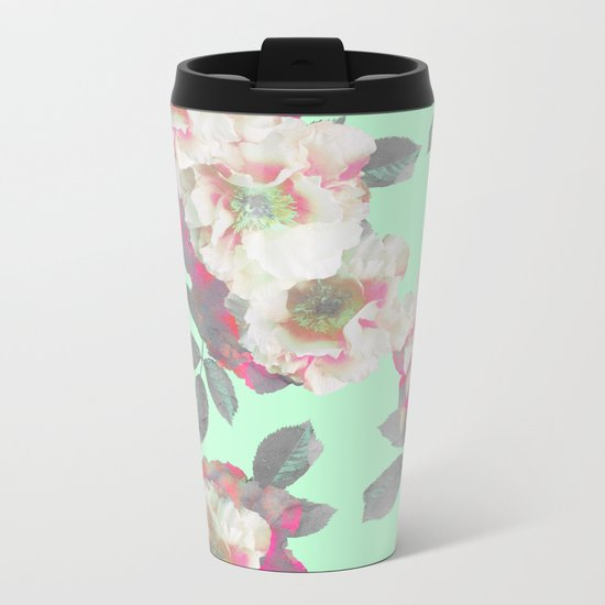 Fresh Garden Metal Travel Mug