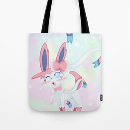 Sylveon in Pastel Space Tote Bag