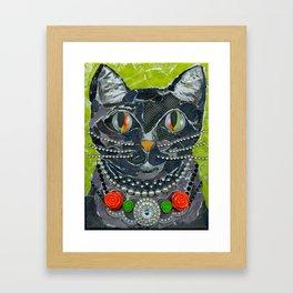 Homage To Betsy J. Framed Art Print