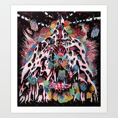 Kali Krystallizer Art Print