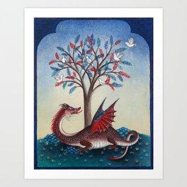 Peridexion tree Art Print