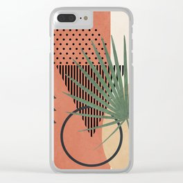 Nature Geometry II Clear iPhone Case