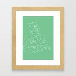 MNDSGN Contour Framed Art Print