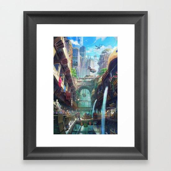 Royal City Escadia  Framed Art Print