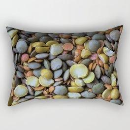 Split Peas Rectangular Pillow