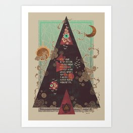 Coded Art Print