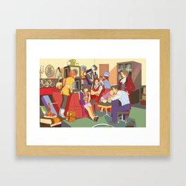 the wright anything agency Framed Art Print