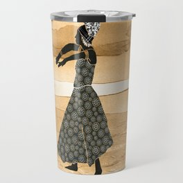 African Dancer 1 Travel Mug