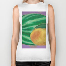 Watermelon Mango Biker Tank