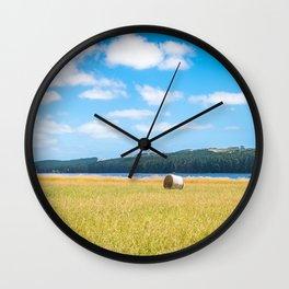 Myponga Bales Wall Clock