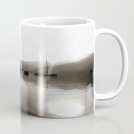 Gulets In Greyscale Coffee Mug