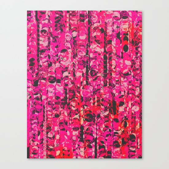 Pink & Red Canvas Print