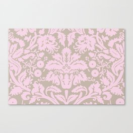 French chic pink Canvas Print