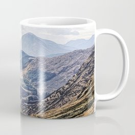 View of Glen Etive from Glencoe, Scotland Coffee Mug