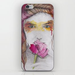 You will discover me, through the art iPhone Skin