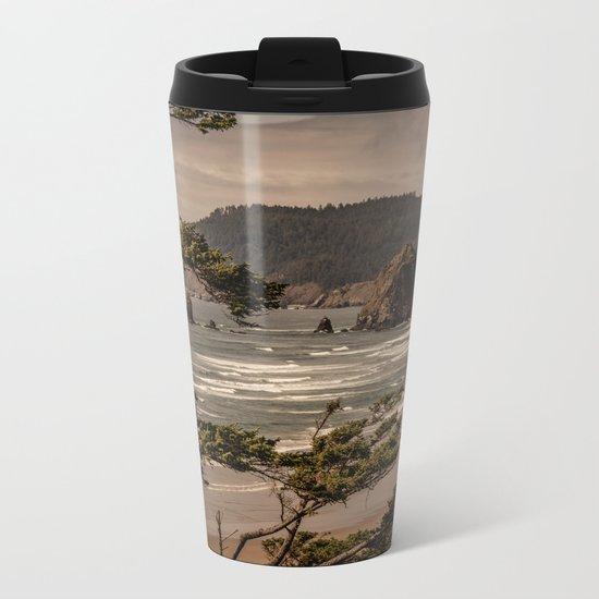 Pacific Summer Metal Travel Mug