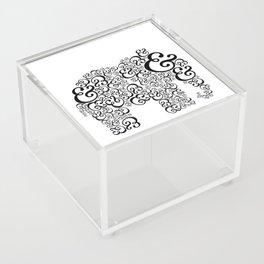 Ampersand Elephant Acrylic Box