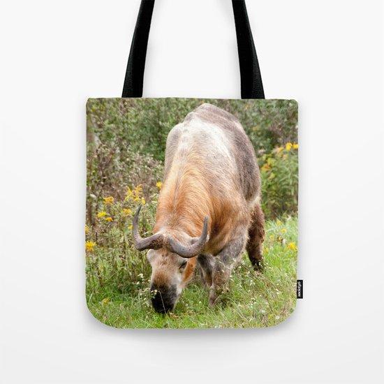 The Endangered Takin Tote Bag