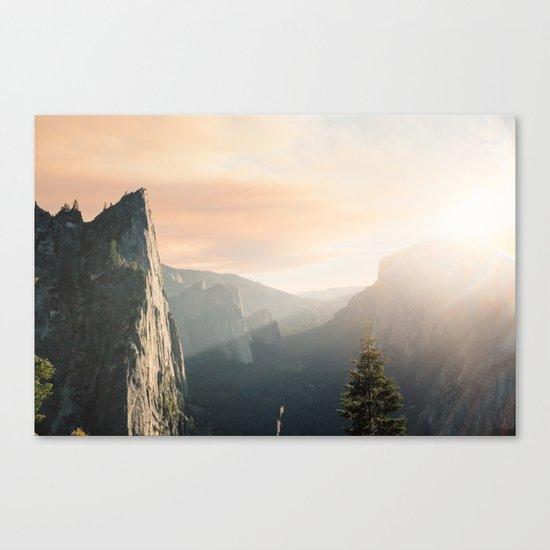 Mountains landscape 4 Canvas Print
