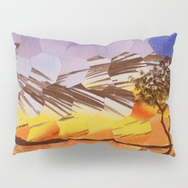 Lavendar Morning with Dove Pillow Sham