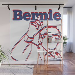 Bernie Sanders Pop Art Wall Mural