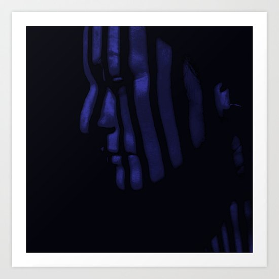 So Blue Art Print