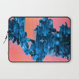 Velocious Blue Little Tree Laptop Sleeve