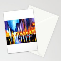 City Nightscape Stationery Cards