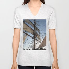 Setting Sail Unisex V-Neck