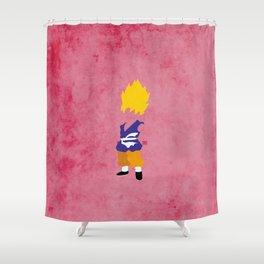 SSJ Saiyan Shower Curtain