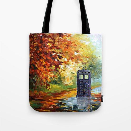 starry Autumn blue phone box Digital Art iPhone 4 4s 5 5c 6, pillow case, mugs and tshirt Tote Bag