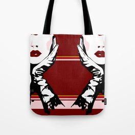Red Lips Tote Bag