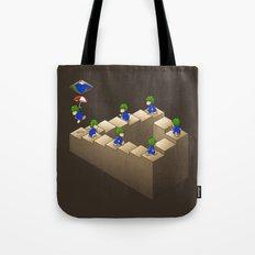 Lem C. Escher (brown variant) Tote Bag