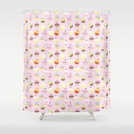 Cupcake Wonderland Shower Curtain